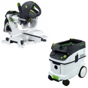 Festool-KS-120-Dual-Compound-Sliding-Miter-Saw-CT-36-E-Dust-Extractor-Package-0