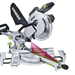 Genesis-GMSDR1015LC-15-Amp-10-Inch-Sliding-Compound-Miter-Saw-Grey-0