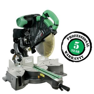 Hitachi-C12RSH-15-Amp-12-Inch-Sliding-Compound-Miter-Saw-with-Laser-0
