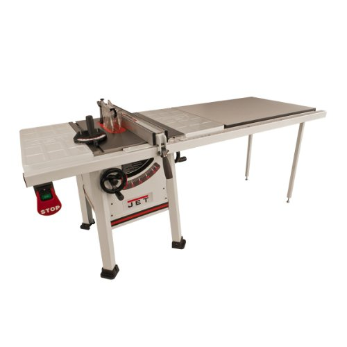 Jet 708493k Jps 10ts 10 Inch Proshop Tablesaw With 52 Inch Fence Steel Wings And With Riving