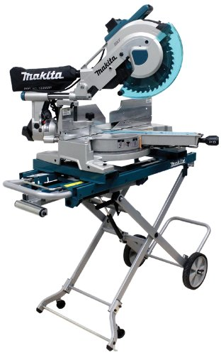 Makita-LS1016LX5-10-Inch-Dual-Slide-Compound-Miter-Saw-with-Laser-and-Stand-0