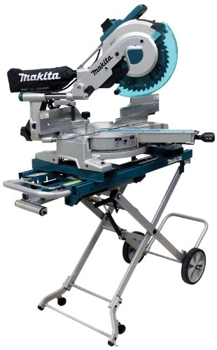 Makita-LS1216LX4-12-Inch-Dual-Slide-Compound-Miter-Saw-with-Laser-and-Stand-0