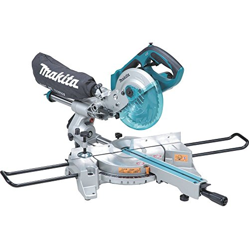 Makita-XSL01Z-LXT-Lithium-Ion-Cordless-Dual-Slide-Compound-Miter-Saw-with-Tool-7-12-Inch-0